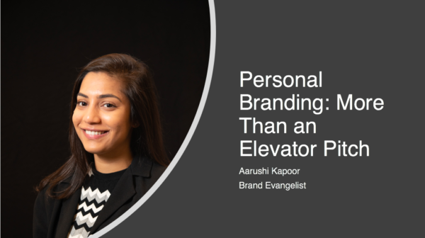 Personal Branding: More Than Just an Elevator Pitch