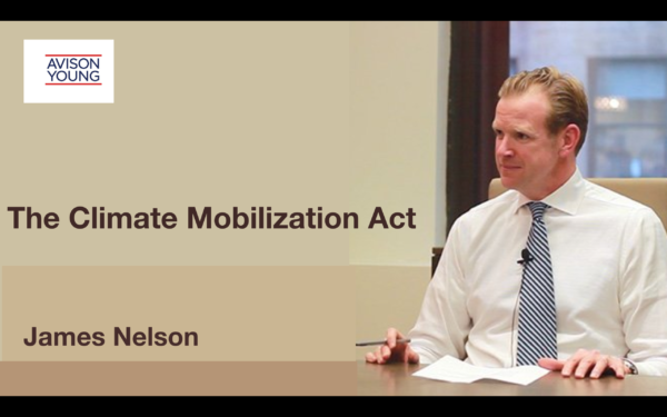 The Climate Mobilization Act – James Nelson