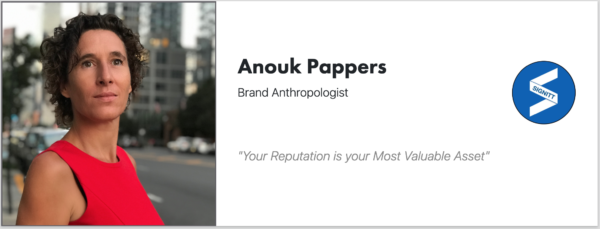 Anouk Pappers - Signitt - Speaker - Author