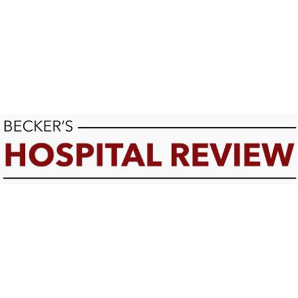 Featured in Becker's Hospital Review