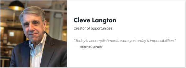 Cleve Langton - Signitt - Brodeur - New Business