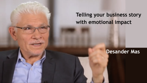 Telling your business story with emotional impact
