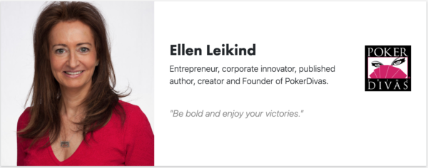 Ellen Leikind - PokerDivas - Signitt