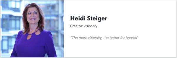 Heidi Steiger - Signitt - Board Director