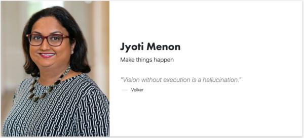 Jyoti Menon - Signitt