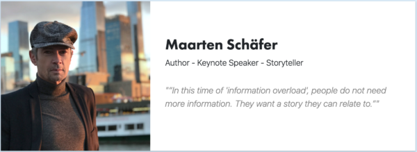 Maarten Schafer - Signitt - Keynote Speaker - Author - CoolBrands