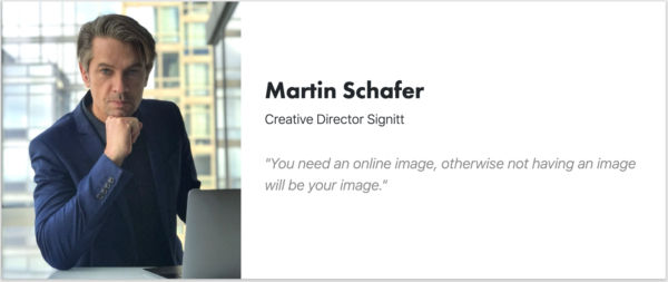 Martin Schafer - CCO Signit - Creative Director