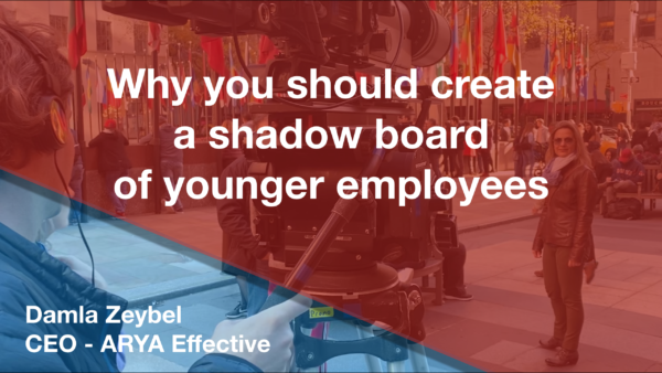 Why you should create a shadow board of younger employees