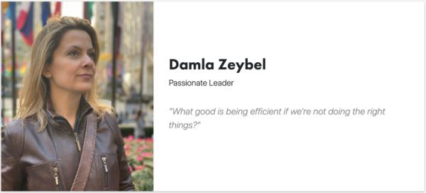Damla Zeybel - ARYA effective