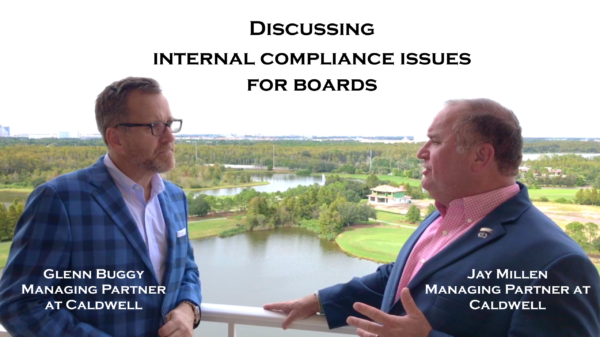 Discussing Internal Compliance issues for boards