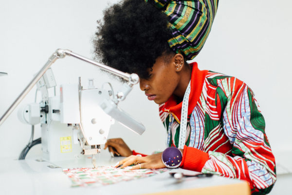 Vlisco Tailor Academy in Ghana