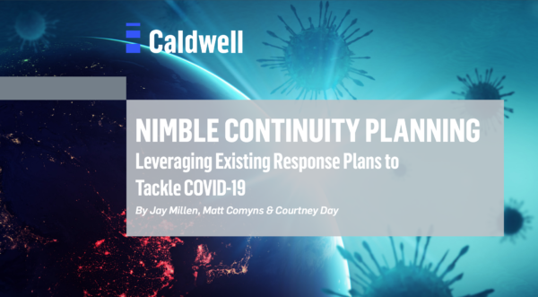 Nimble continuity planning