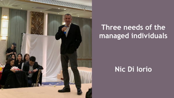 Three needs of managed individuals