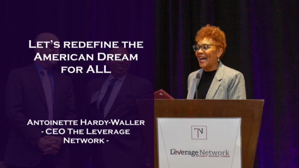 Let's redefine the American Dream for ALL