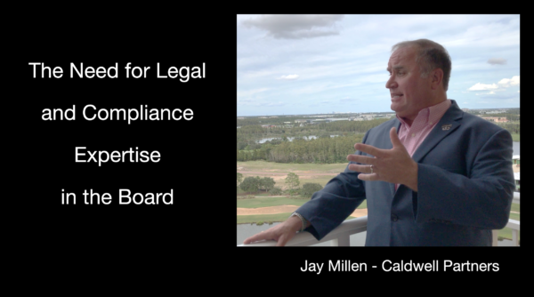 The Need for Legal and Compliance Expertise in the Board.