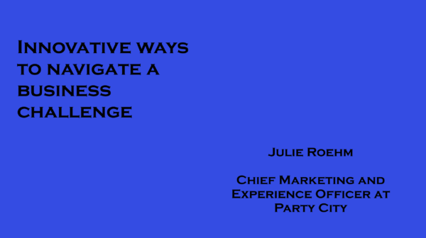 Innovative ways to navigate a business challenge