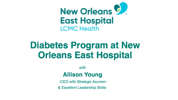 Diabetes Program at New Orleans East Hospital