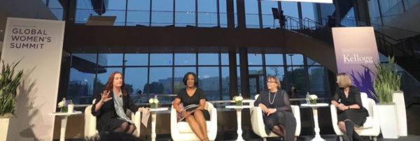 'Making Bold Career Moves' – panelist at Kellogg's Global Women's Summit