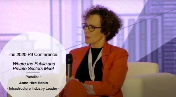 Panelist at The 2020 P3 Conference: Where the Public and Private Sectors Meet