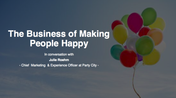 The Business of Making People Happy