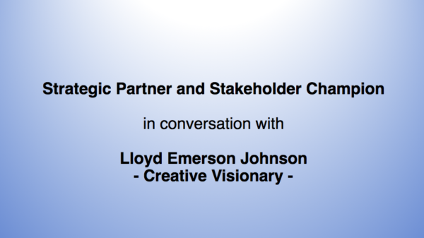Strategic Partner and Stakeholder Champion