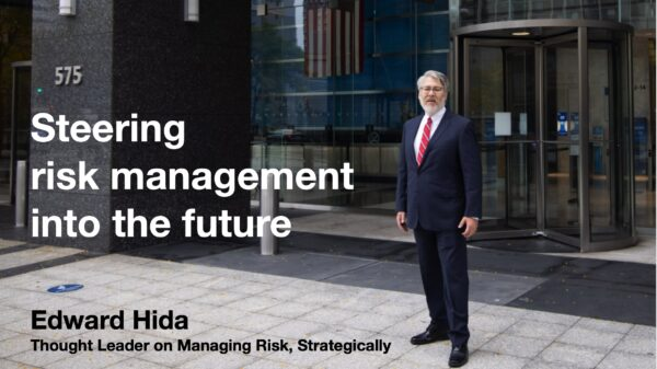Steering risk management into the future strategically