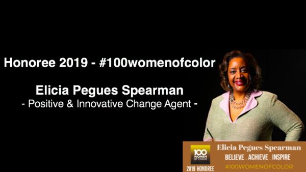Honoree 2019 #100womenofcolor