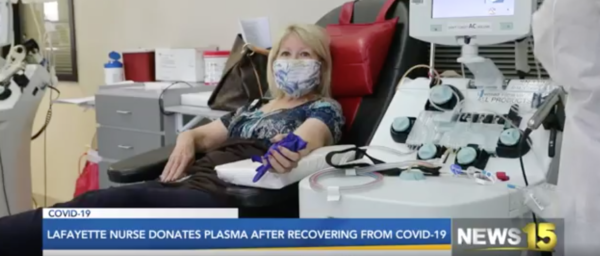 Donating Plasma to Help Others Fight COVID-19