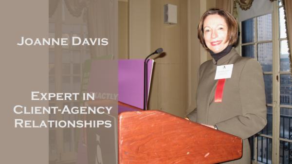 Joanne Davis Consulting Profile on Adforum