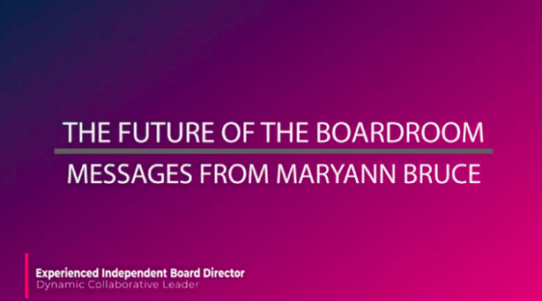 The Future of the Boardroom