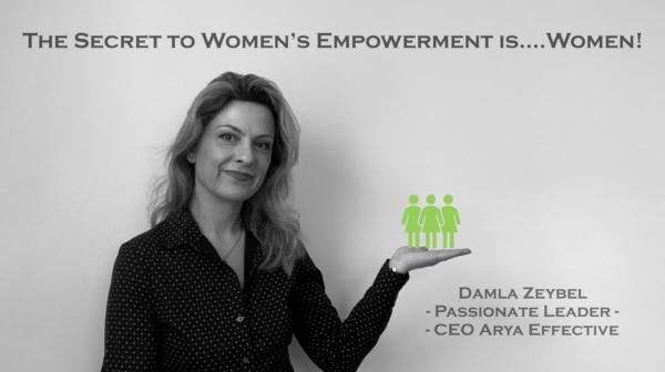The Secret to Women's Empowerment is……………Women!