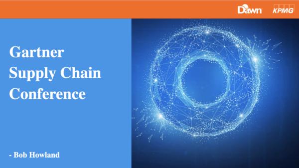 Gartner Supply Chain Conference