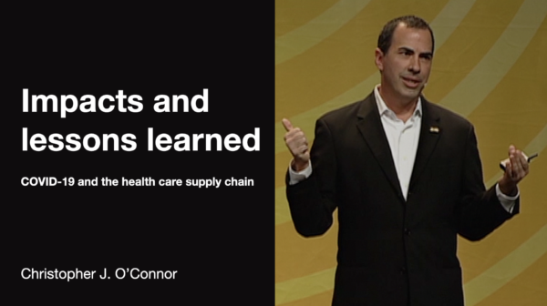 COVID-19 and the health care supply chain