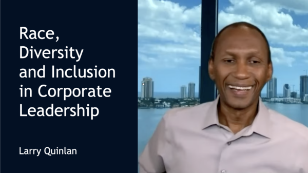Discussing Race, Diversity, and Inclusion in Corporate Leadership