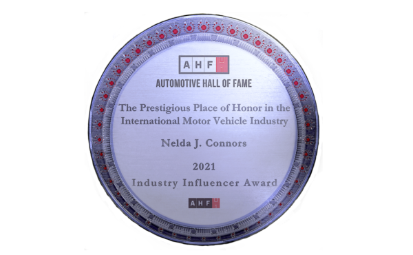 Honored Industry Influencer by the Automotive Hall of Fame