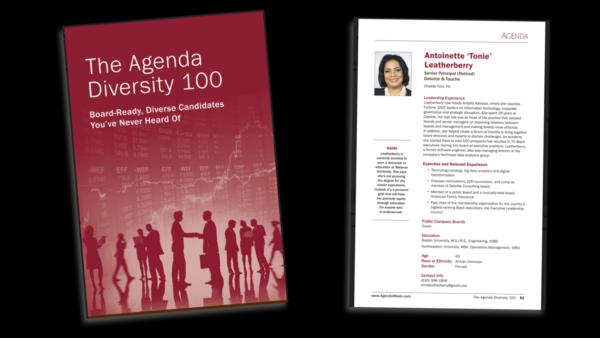 The Agenda Diversity 100