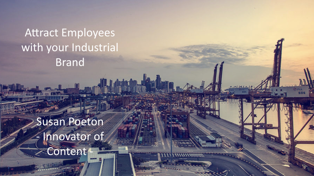 Attract Employees with your Industrial Brand
