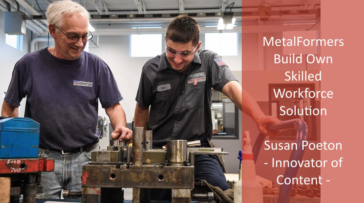 Metalformers build own skilled workforce solution