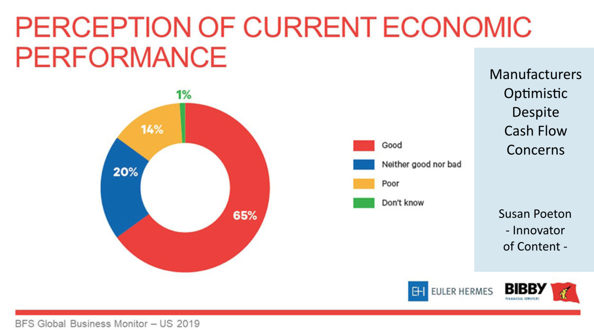 Manufacturers optimistic despite cashflow concerns