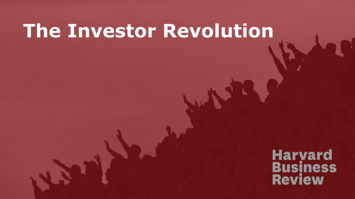 The Investor Revolution