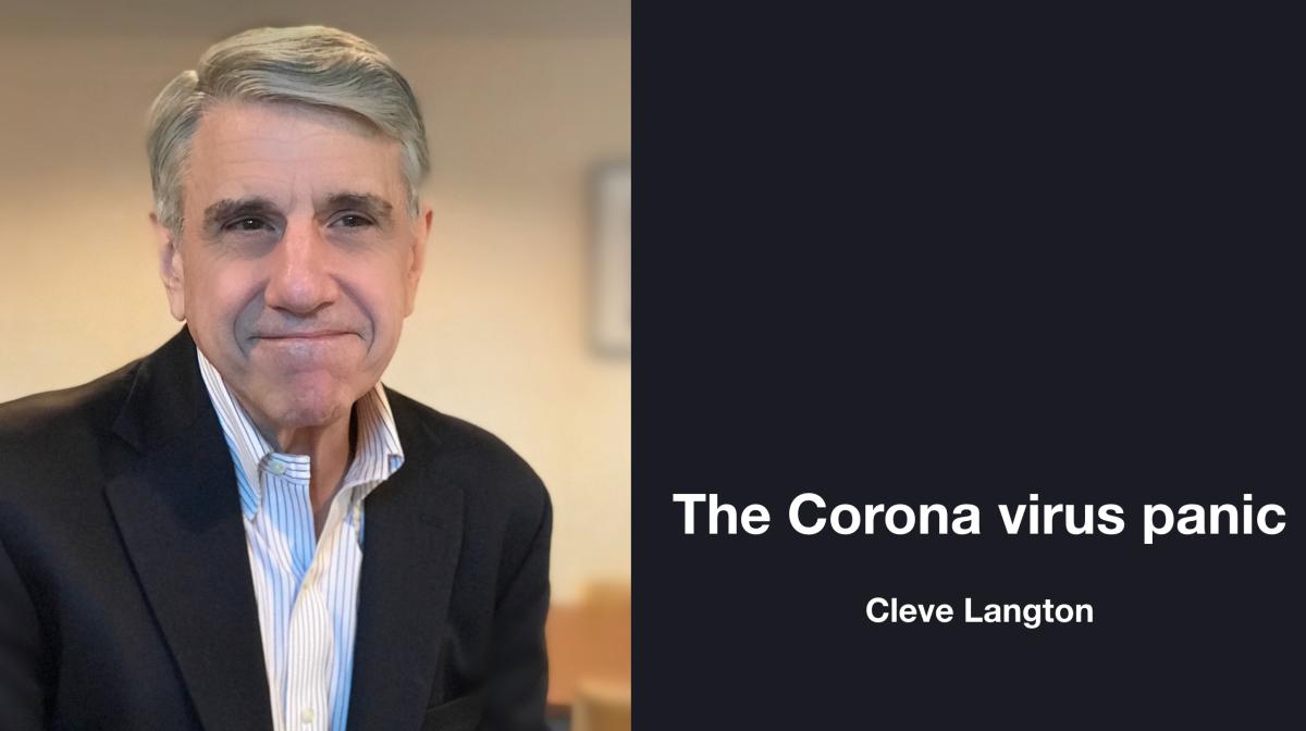 The Corona virus panic