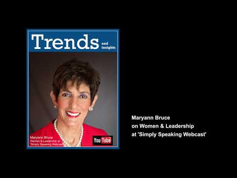Women and Leadership – interview with Maryann Bruce, Experienced Corporate Director