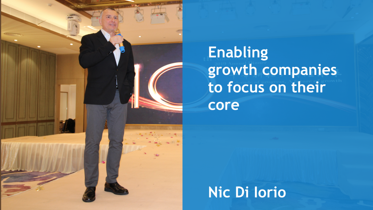 Enabling growth companies to focus on their core