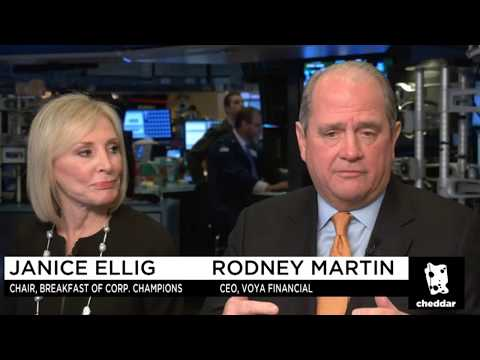 Conversation with Janice Ellig & Rodney Martin on Cheddar TV