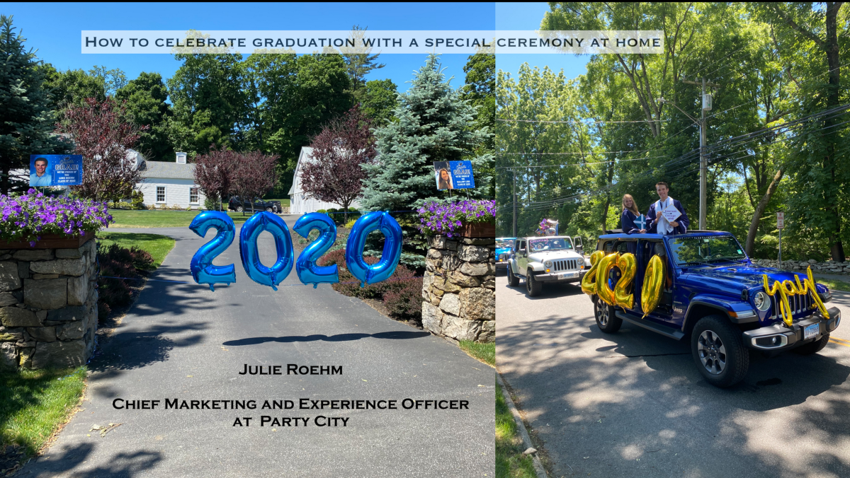 Celebrating graduation in a new way!