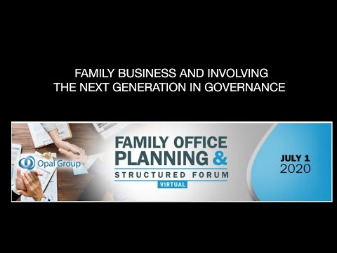 Family Businesses & Involving the Next Generation in Governance