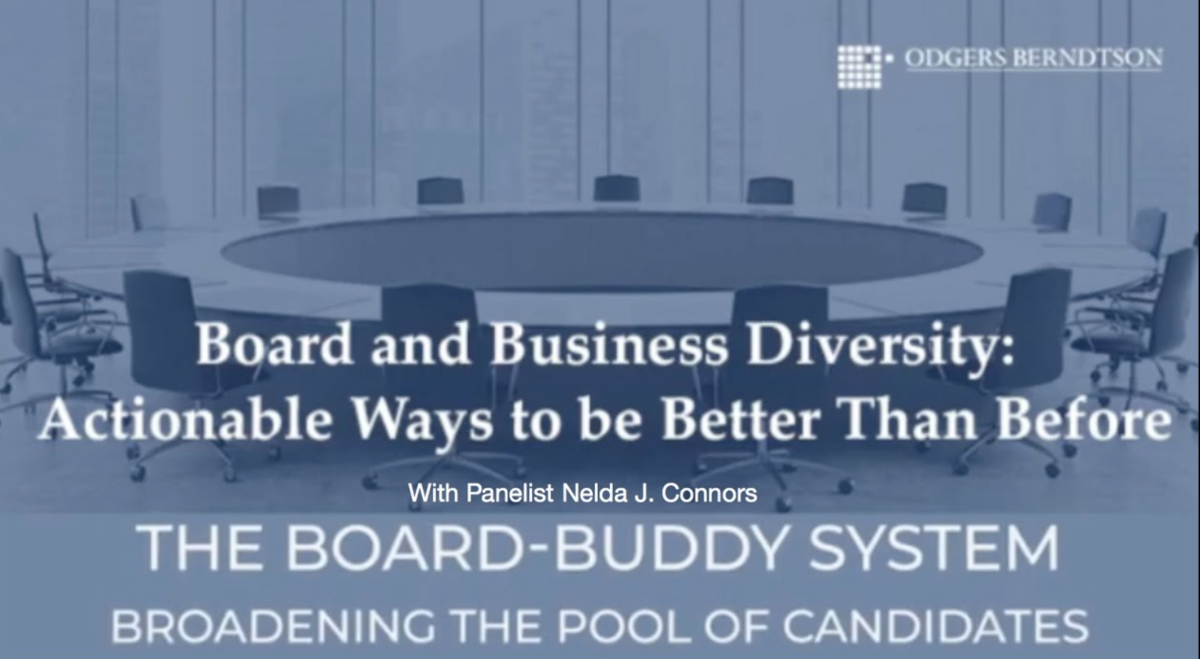 The Board-Buddy System: Broadening the Pool of Candidates