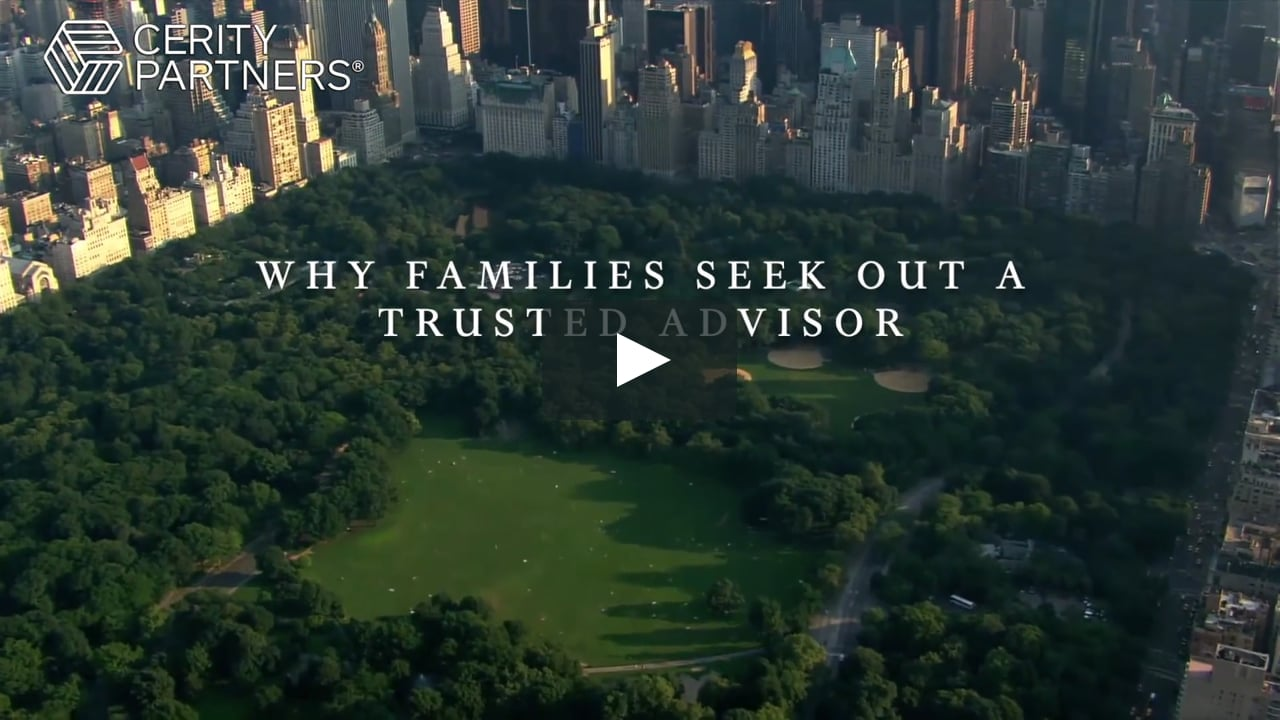 Why Families Seek out a Trusted Advisor