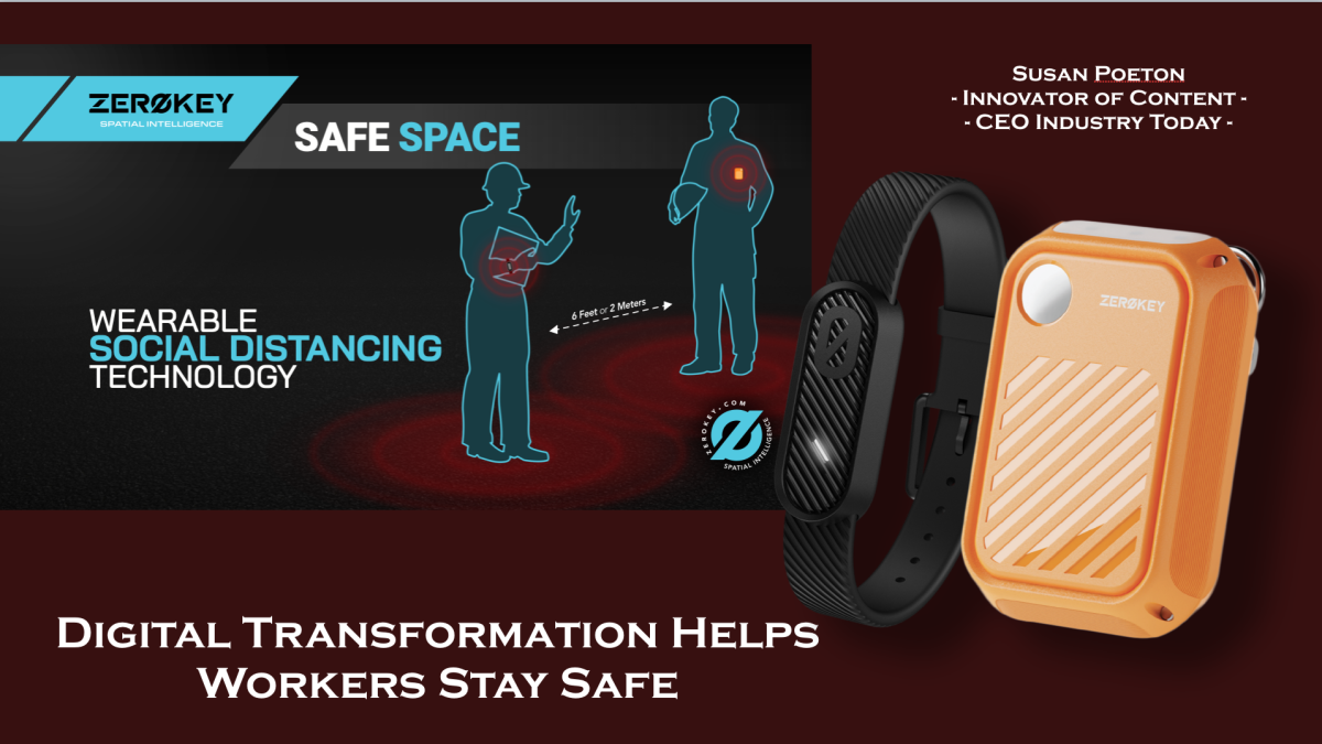 Digital Transformation helps workers stay safe