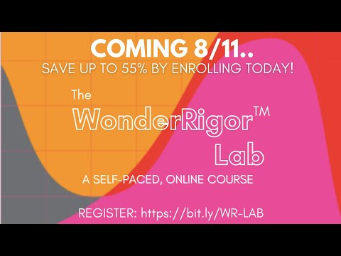 Welcome to the WonderRigor Lab